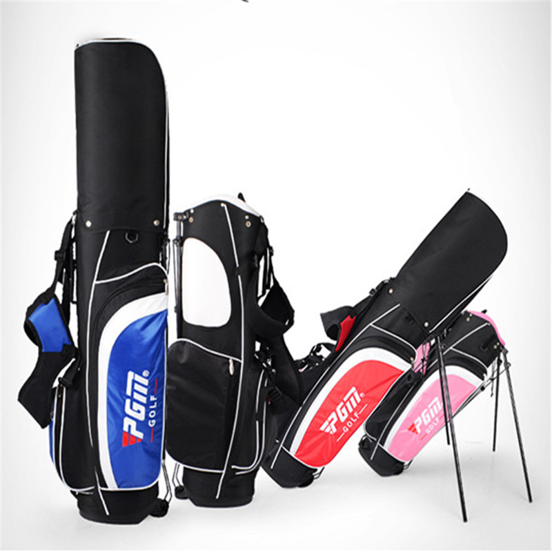 2018 Top Nylon Golfbag New Pgm Authentic Golf Bag Large Capacity Can Be Loaded Gun Bracket 13 Sets Bar Multicolor ...