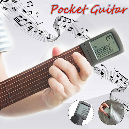 SOLO SCT-80 Portable Chord Trainer Pocket Guitar Practice Tool for Beginner