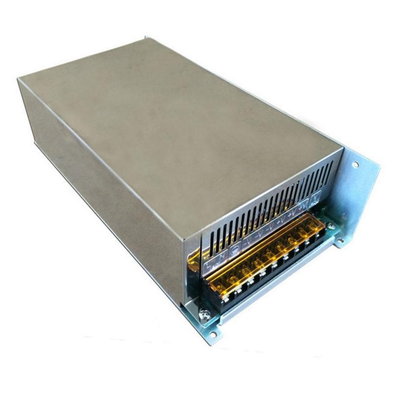 купить Metal case type DC 60 Volt 20 Amp 1200 watt transformer AC/DC 60V 20a 1200w Switching Power Supply industrial transformer по цене 20398.57 рублей