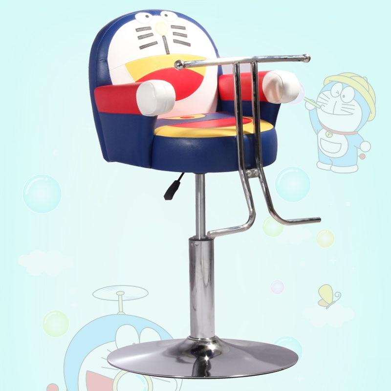 New haircut cartoon car children. Children's hairdressing chair. Cartoon animals children barber chair 2017 new children