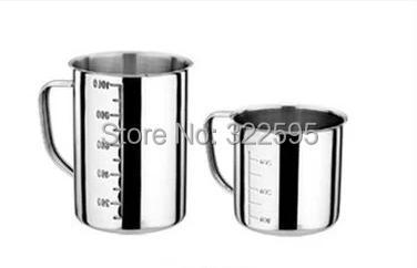 500ml /1000ml/2000ml stainless steel beaker laboratory use with handle одноразовый контейнер letter 1000 50 1000ml 500ml 650 750ml