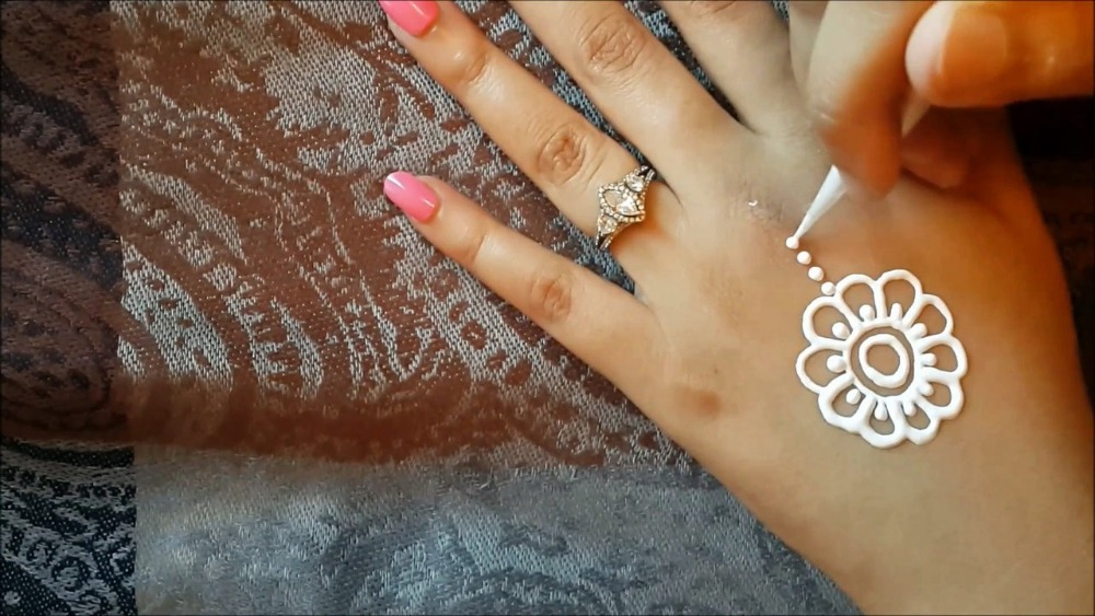 Party Mehndi Cone : Pack india s gold glitter henna cone day temporary tattoo