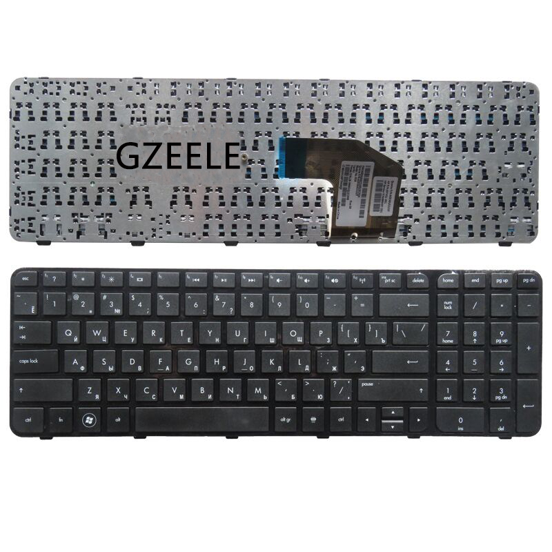 GZEELE Russian Laptop Keyboard FOR HP Pavilion 681800-251 673613-251 699497-251 700271-251 AER36701310 SG-55120-XAA RU NEW Frame