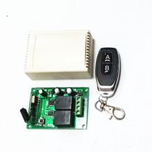 433Mhz wireless RF switch DC12V relay receiver and learning code 1527 remote control for DC motor forward and reverse remote con все цены