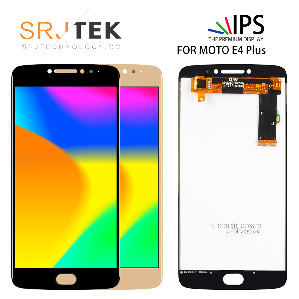 ORIGINAL LCD <font><b>Display</b></font> For Motorola <font><b>Moto</b></font> <font><b>E4</b></font> <font><b>Plus</b></font> <font><b>XT1770</b></font> XT1771 XT1772 XT1773 touch screen Digitizer Sensor Glass Assembly Parts image