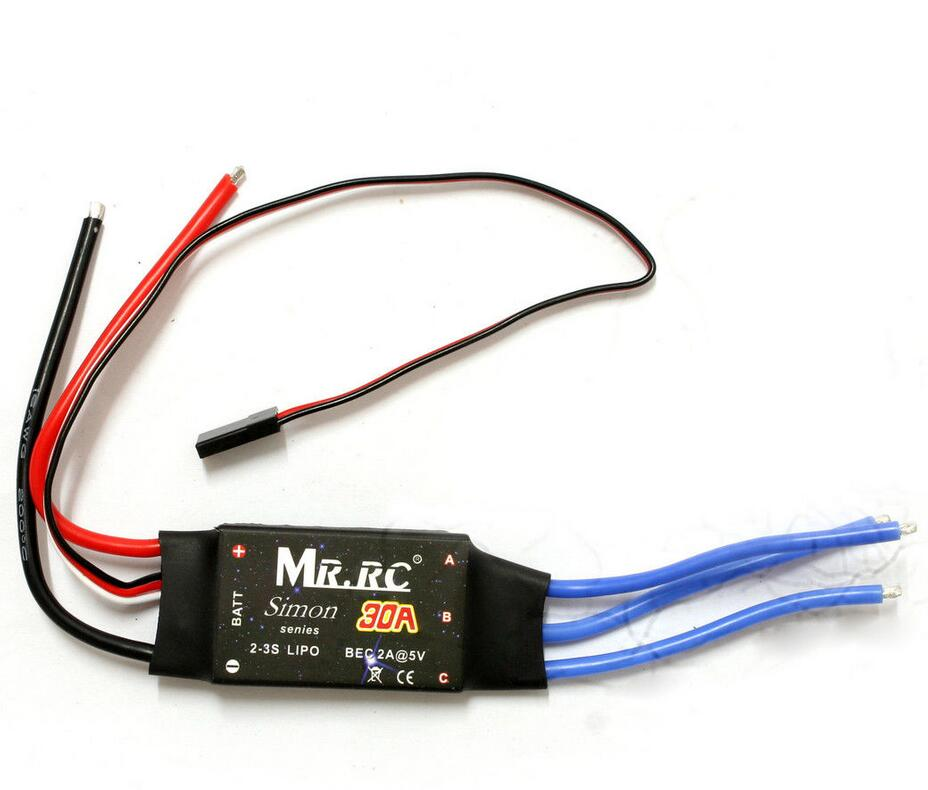 MR.RC Simonk 20A ESC Brushless Motor Speed Controller for Multicopter New simonk 30a 40a 2 4s brushless esc speed control for multicopter