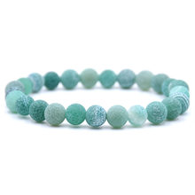 HYHONEY High quality Natural Colored weathered stone beads Bracelet men Bracelets & Bangles For women Jewelry(China)
