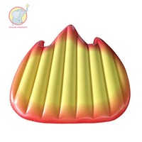 Inflatable Flame Fire Pool Float Swimming Ring swim circle Air Mattress water toys for child adult kids beach party decorations