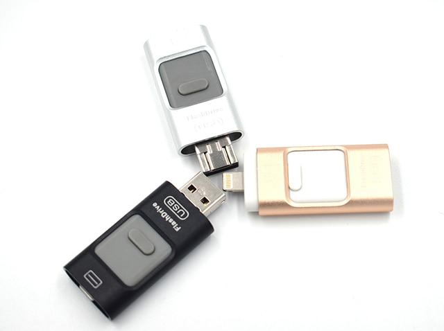 Для iPhone 6 6 s Plus 5 5S ipad Pen drive memory stick двойной мобильный OTG Micro USB Флэш-Накопитель 16 ГБ 32 ГБ 64 ГБ 128 ГБ PENDRIVE
