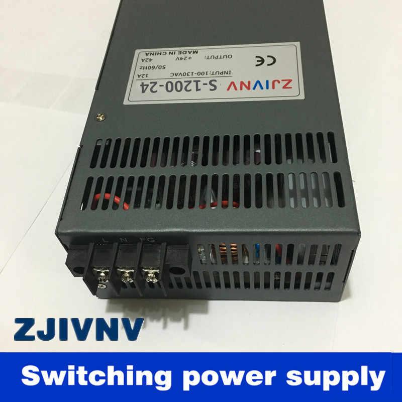 新しい!高品質1200ワット72ボルト15a 220vacのか110vac入力単出力スイッチング電源用ledストリップライトacにdc smps