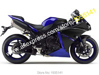 Hot Sales,Best Price Body Work For Yamaha YZF1000 R1 2012 2013 2014 YZF R1 Blue Black Motorcycle Fairing Kit (Injection molding)