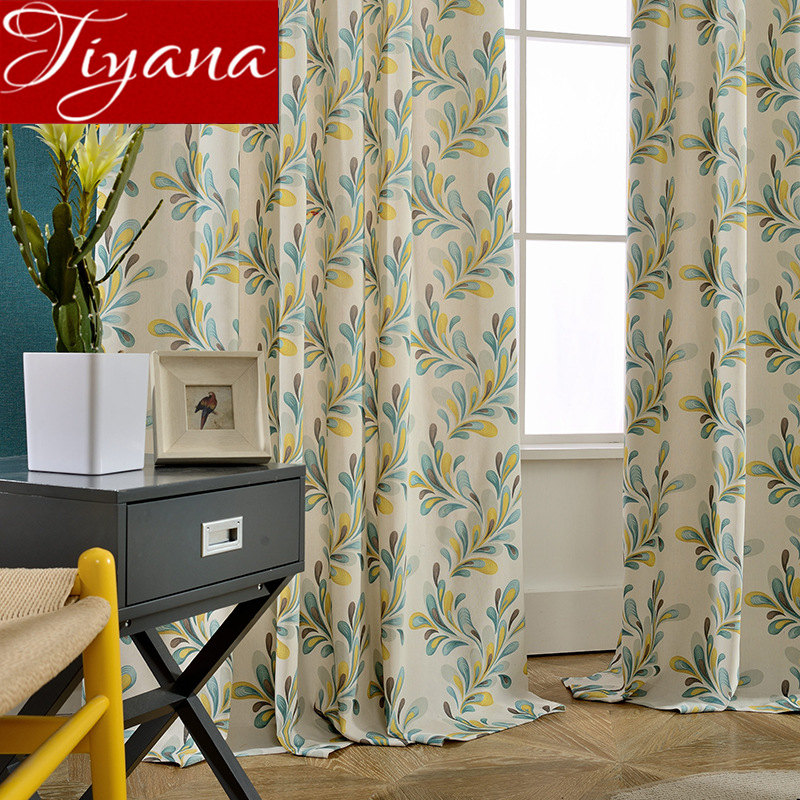 Curtain For Window Bedroom Light Yellow Plant Design For