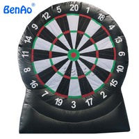 S361 Free shipping New Inflatable Football Dart Board , Inflatable Soccer Dart Game, Inflatable Foot Darts Game For Sale