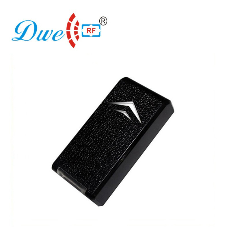 купить DWE CC RF Security plastic contact less wiegand rfid reader door controller for card онлайн
