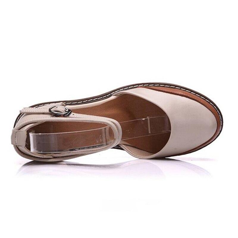 Bouche 40 100 Timetang Rond Dame Véritable Cuir Chaussures Beige bleu Plate Bout En Profonde 2018 Femmes Taille forme Pompes 34 Peu Femme 44HanxSFq