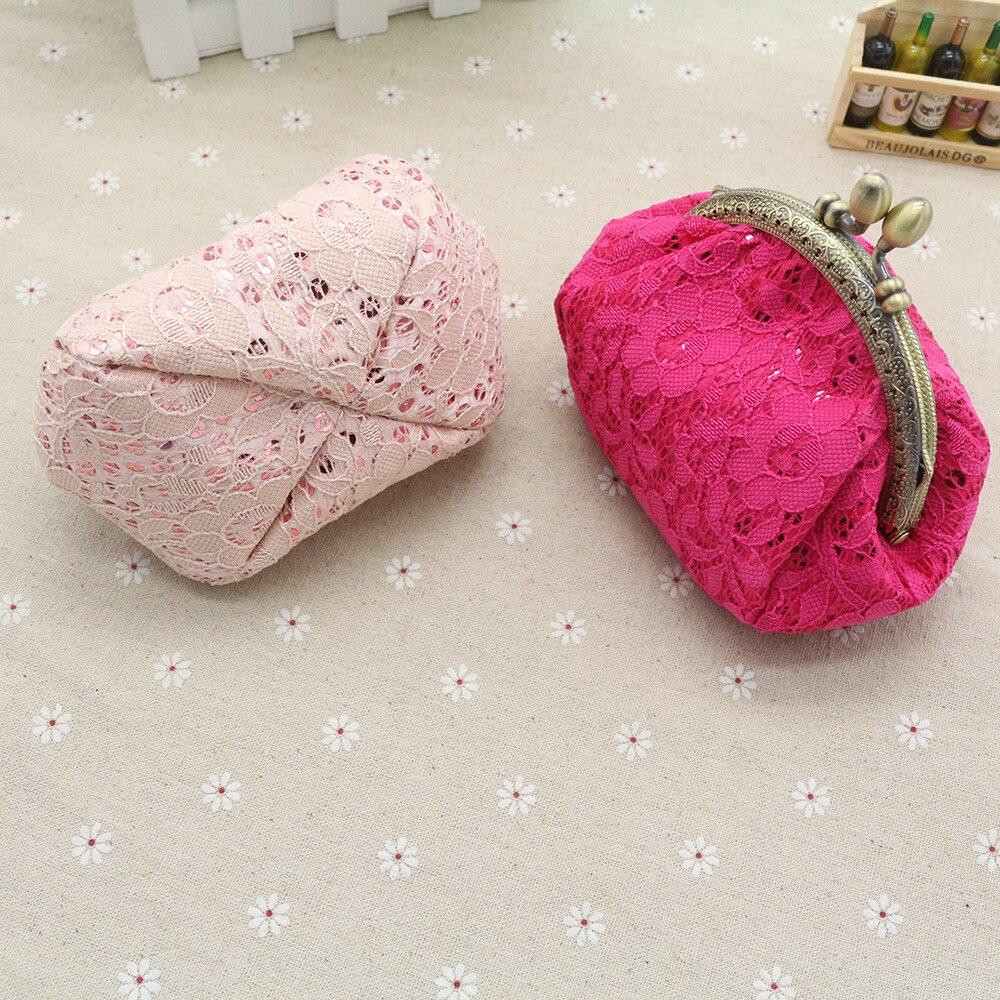 511a04089 ... Mini Luxury Lace Hasp Wallet Purse Coins Pocket. Naivety nuevo regalo  mujeres Mini lujo de encaje cartera monedero monedas bolsa de embrague de  bolsillo ...