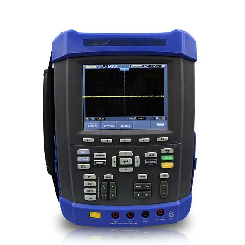Digital Oscilloscope Hantek DSO8152E USB Generator Handheld Lcd PC Based 150MHz DMM Automotive Osciloscopio Logic Analyzer dso 150 2 0 lcd usb dual channel oscilloscope
