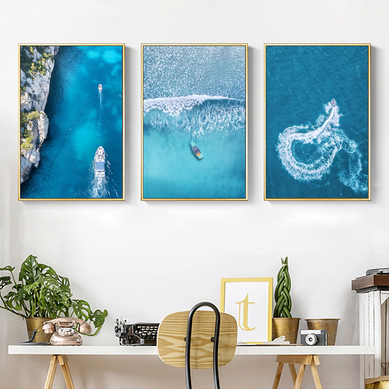 Scandinavian-Style-Landscape-Art-Canvas-Painting-Sea-Art-Wall-Pictures-For-Living-Room-Acrylic-Paints-Decoration