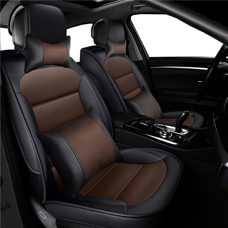 LUXURY GREY FAUX LEATHER SEAT COVER SET for FORD FIESTA MK7 11+
