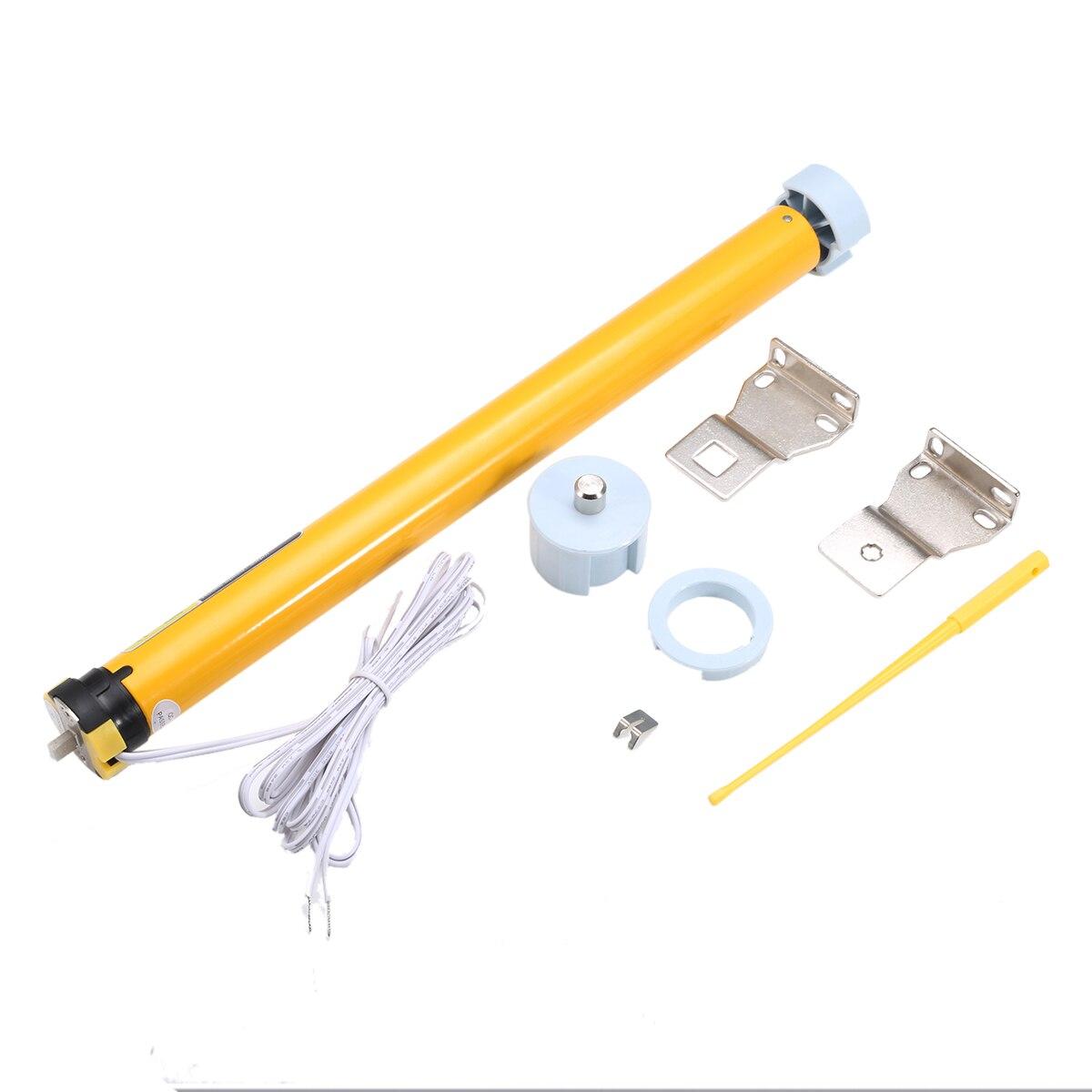 Bricolage Électrique Rouleau De Rideaux DC 12 V 30 TR/MIN Électrique Stores Moteur Tubulaire pour Volets Roulants Avec Hoder Kit