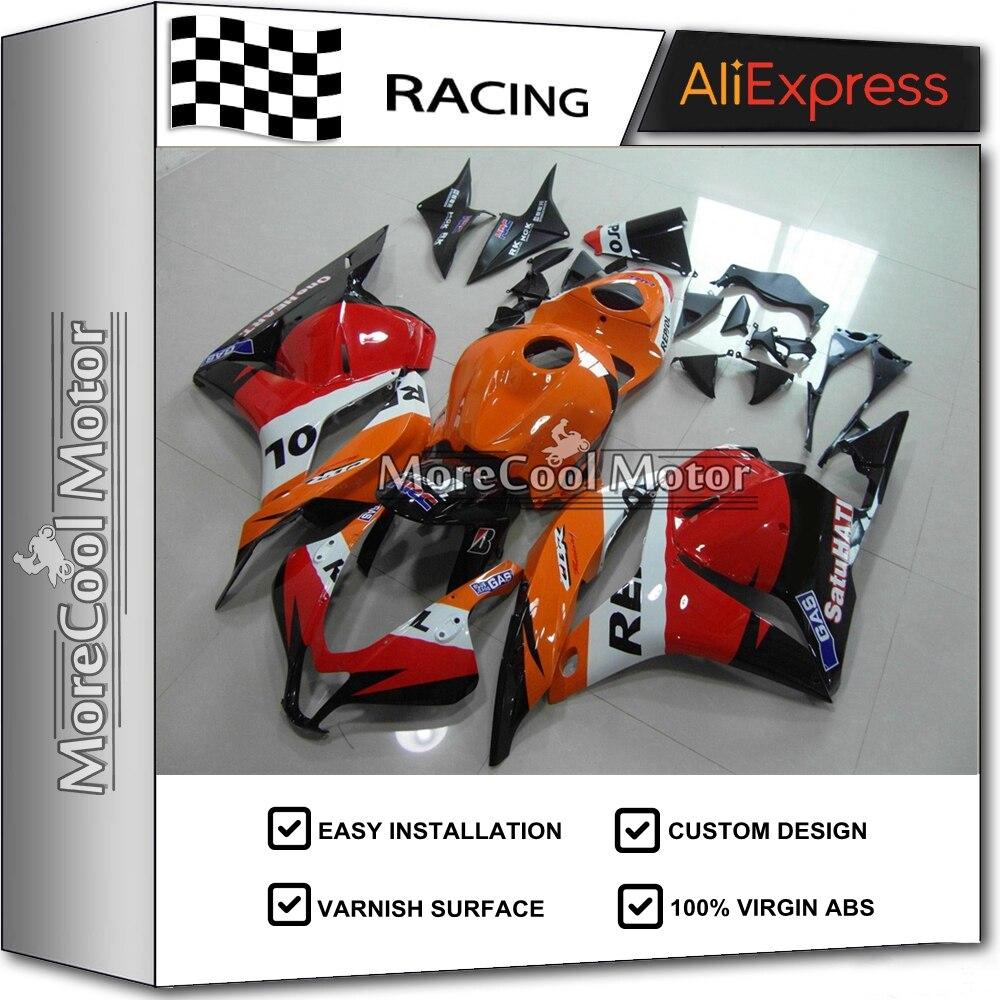 UV Painting Job Motorcycle Fairing Set For Honda Repsol CBR600RR 2009 2010 2011 2012 Fairings Kits 09 10 11 12 настенная плитка cristacer miracle decor melina gris 20x60