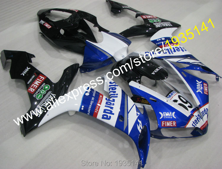 Hot Sales,Racing cowling kit For Yamaha YZF R1 2004 2005 2006 YZF1000 R1 YZF-R1 Motorbike Plastic Fairing (Injection molding)