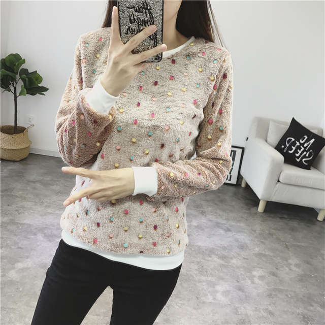Women Autumn Winter Sweater 2018 Casual Long Sleeve Female Pullover Imperial Crown and Diamond Print Loose Top Women's Clothing 2