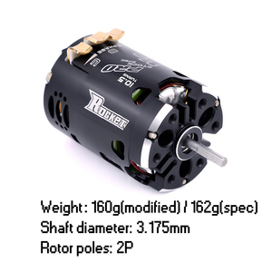 Image 4 - SURPASSHOBBY Rocket 540 V3 Pro 10.5T 13.5T 17.5T 21.5T 25.5T Sensored bezszczotkowy silnik do Spec Stock Competition 1/10 1/12 F1