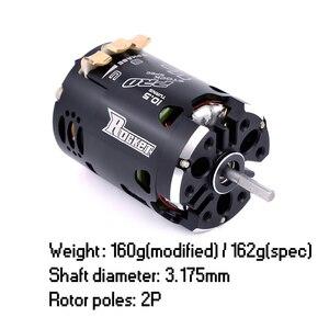Image 4 - Surpashopper moteur de fusée 540 V3 Pro 10.5T 13.5T 17.5T 21.5T 25.5T, moteur sans balais, capteur, pour Spec Stock, 1/10 1/12 F1