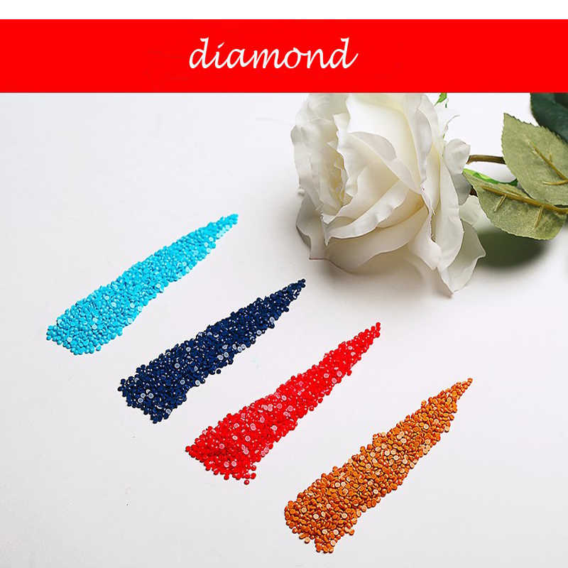 5D DIY Diamond Painting Teacup cat Full Round Diamond embroidery Cross stitch Diamond crystal Wall Painting