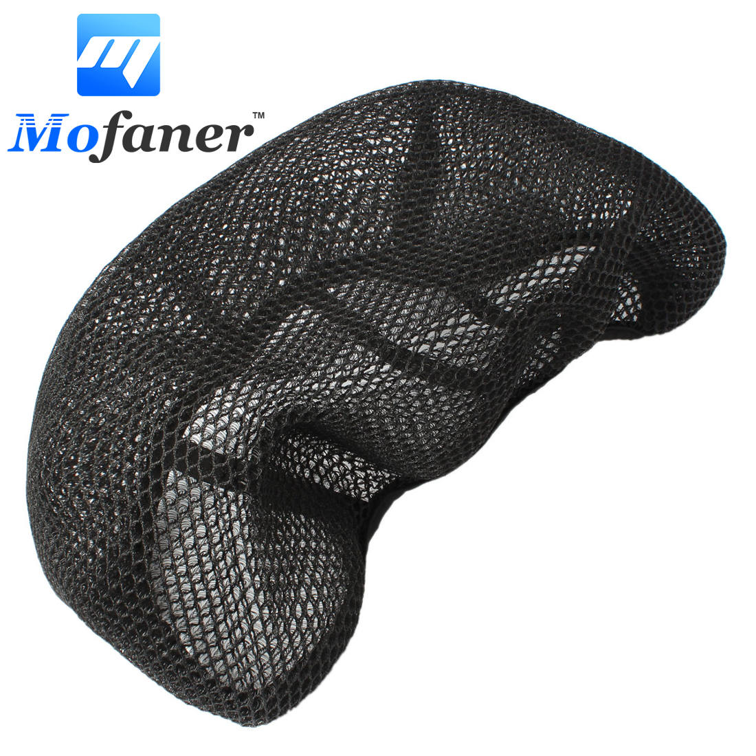 все цены на 3D Black Motorcycle Scooter Net Seat Cover Breathable Protector S M L XL XXL