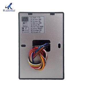 Image 4 - Морозоустойчивая двойная RFID считыватель карт 125 кГц единый контроль доступа к двери IP65 Водонепроницаемый на открытом воздухе 2000 пользователей