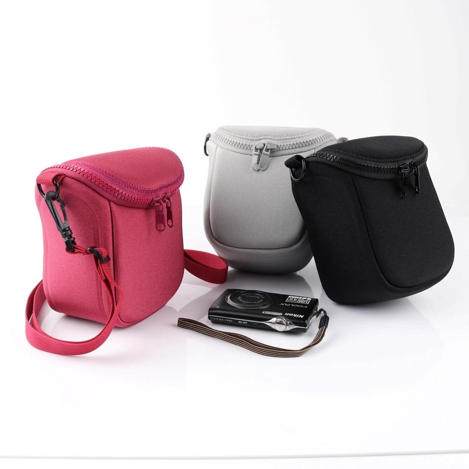 цена на Waterproof Camera Bag For Canon EOS M3 M10 M100 M M2 G7X2 Nikon 1J4 J3 J5 Sony A5000 A5100 A6000 A6300 16-50 Lens Samsung NX3000