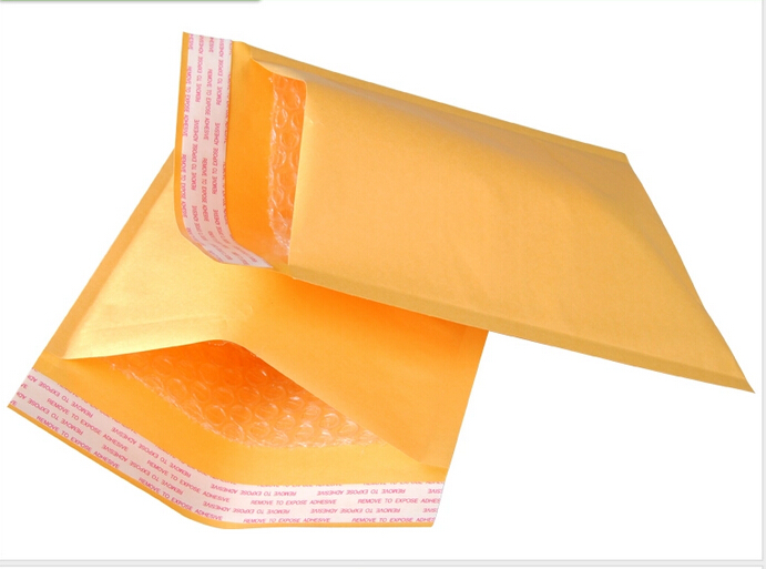 Wholesale 50pcs 11X13cm 4.3x5.1 Small Manufacturer Kraft bags bubble mailers padded envelopes paper mailer MAILING bag