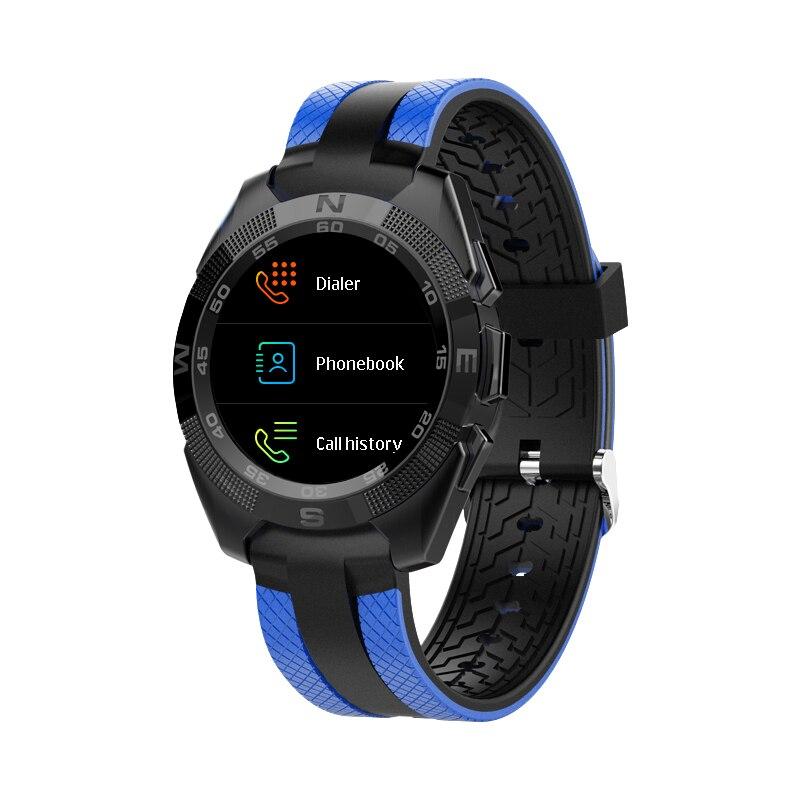Hommes L3 montre intelligente Bluetooth appel fréquence cardiaque surveillance du sommeil alarme message rappel télécommande pour Android IOS smartphone