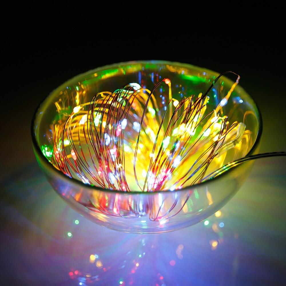 Tiras de Led iluminação do feriado de fadas Vida Média (hrs) : 100000