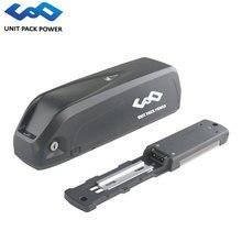 Пуховая трубка eBike батарея 48 В 10Ah литиевая батарея 500 Вт 48 В Электрический велосипед батарея с USB + 25A BMS 54,6 в 2A зарядное устройство