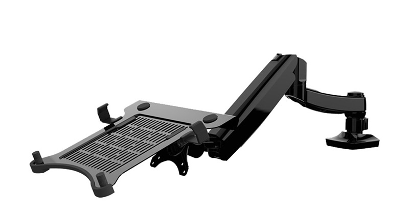 Nbsilence Laptop Mount Pneumatic Notebook Display Bracket