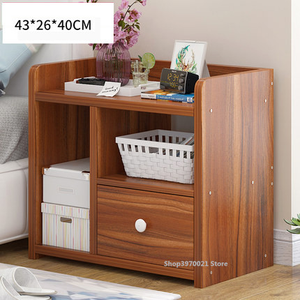 Simple Bed Cabinet Storage Small