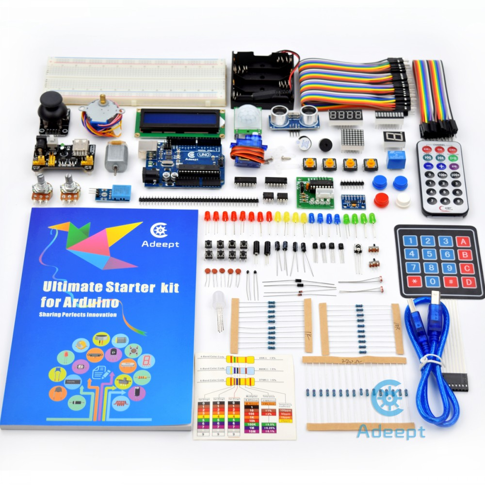Arduino UNO R3-нің нұсқаулығы Моторды - Ойындар мен керек-жарақтар - фото 2