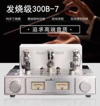 Bluetooth 300B Single Ended Tube Amplifier 5Z3P Rectifier  6N8P Tube Hifi Stereo Audio 300B+5N3P+6N4+5Z3P Vacuum Tube Pwer Amp