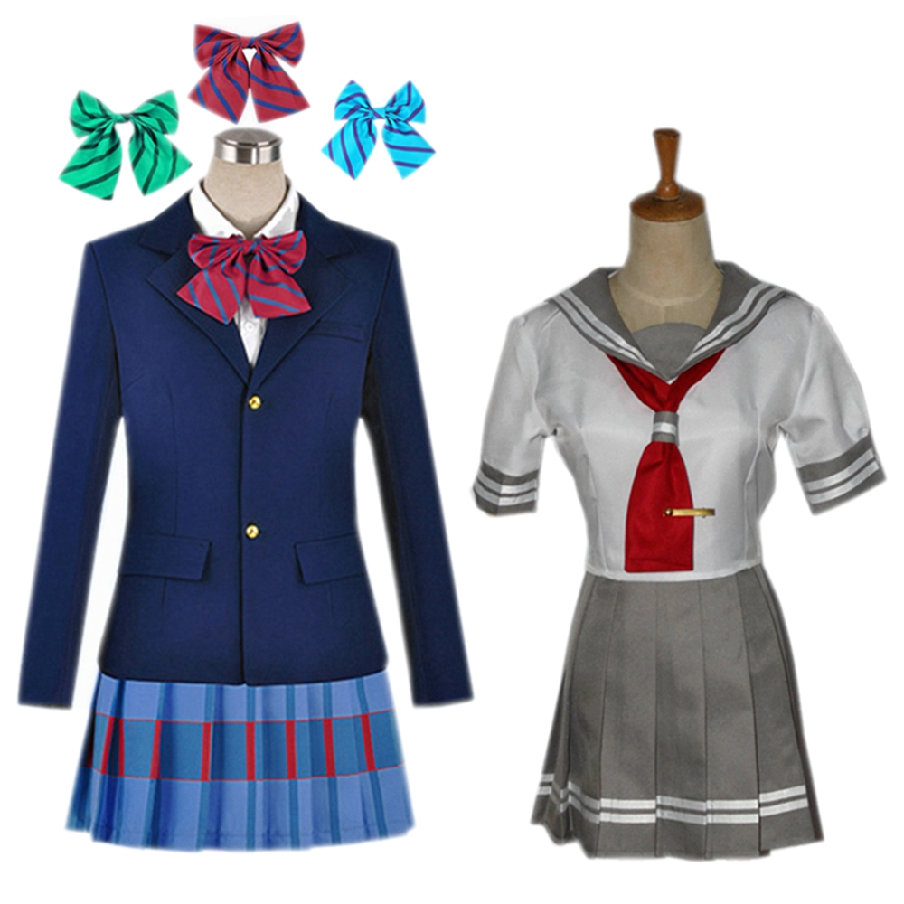 Love Live! Anime Love Live Sunshine Cosplay Kousaka Honoka Yazawa Niko Nishikino Ma Costume Girls School Uniforms Lolita Dresses