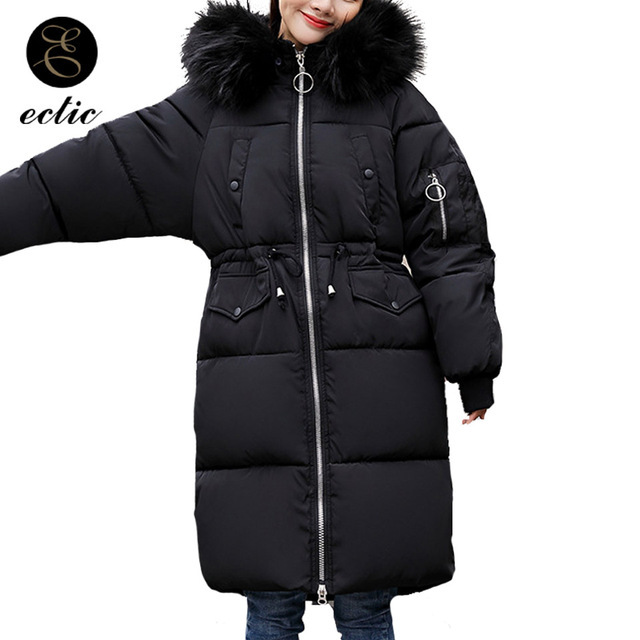 Winter Manteau Womens Parka Korean With Fashion Femme Fur Real Hiver qU8SwHU