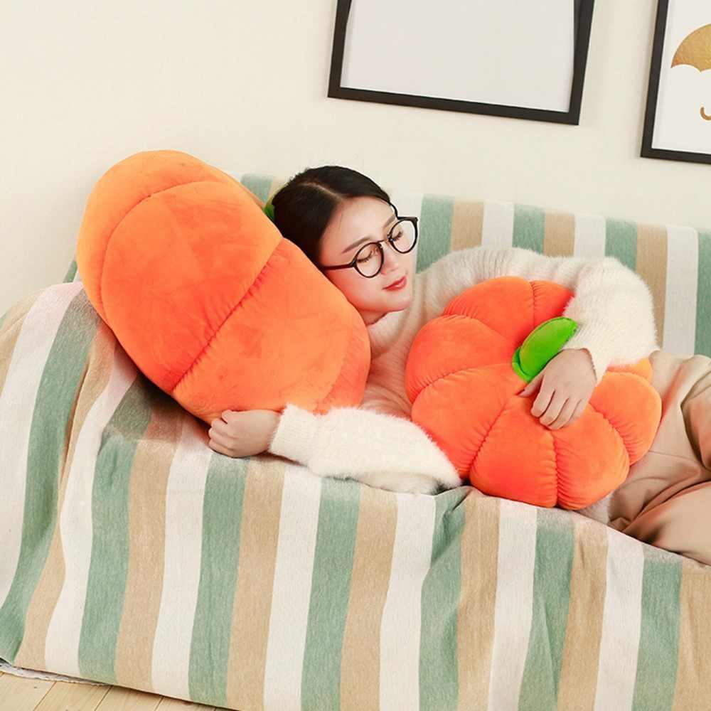 Новое поступление, Высококачественная плюшевая подушка в виде тыквы, 18 см, милая мягкая набивная кукла, плюшевая игрушка в виде тыквы на Хэллоуин