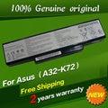 Jigu shippingoriginal livre da bateria do portátil para asus k72y k73 k73e K73J K73JK K73S K73SV N71 N71J N71JA N71JQ N71JV N71V N71VG
