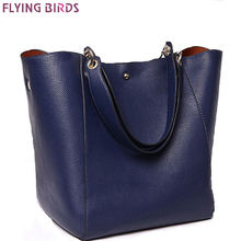 FLIEGEN-VÖGEL! frauen handtasche designer frauen leder handtaschen luxus-taschen 2016 beutel tote hochwertige damentasche LS8947fb