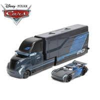 23cm Disney Pixar Cars 3 Toys Lightning McQueen Mack Uncle Truck Jackson Storm Mater 1:55 Diecast Metal Alloy Car Mode Toy
