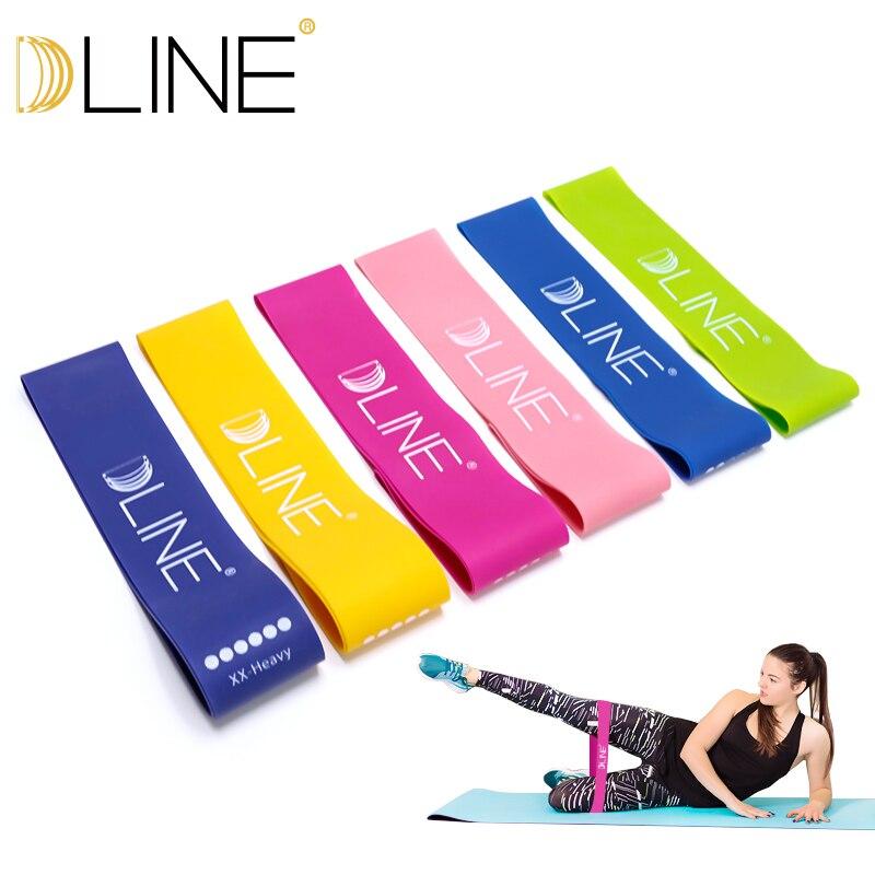 Resistance Bands Fitness Elastic Band 30cm Natural Latex Mini Sport Gym Workout Expander Training Yoga Pilates Exercise