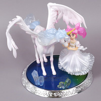 Anime Figuarts Zero Sailor Moon Super S Chibi Usa Helios PVC Figure Collectible Model Toy
