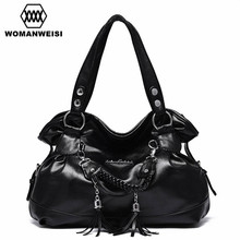 2017 Hot Sale Luxury Brand Tassel Women Bags Leather Handbags Famous Designer Classic Female Messenger Shoulder Bag Bolsos Lady